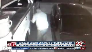 Electrician asking for community's help after thieves steal more than $5,000 dollars in equipment - Video