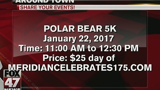 Meridian Township celebrates 175th anniversary with Polar Bear 5K - Video