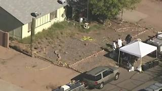 FB LIVE AERIALS: MCSO investigating animal abuse case in Mesa - Video