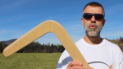 Expert Gives Instructions On How To Throw A Boomerang