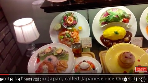 Real Japanese food in the Japanese restaurants mix part 2 of 4