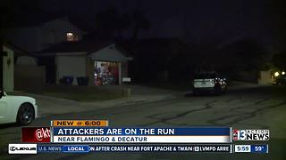 3 men attack elderly couple in home invasion-robbery - Video