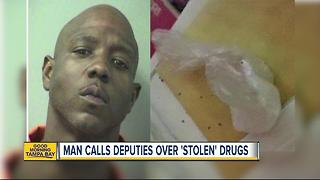 Florida drug dealer calls 911 to report stolen cocaine - Video