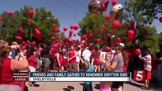 Family, Friends Gather To Remember Dreyton Sims