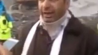 The lucky firefighter who escaped the Tehran Plasco fire - Video