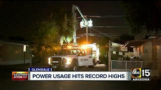 How power companies keep AC on while temperatures sizzle to record highs - Video