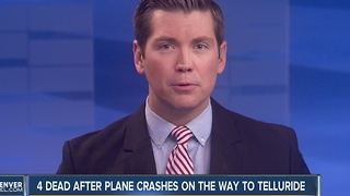 4 people dead in Arizona plane crash; passengers were headed to Telluride - Video