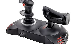 Thrustmaster T Flight Hotas X simple configuration with Infinite Flight - Video