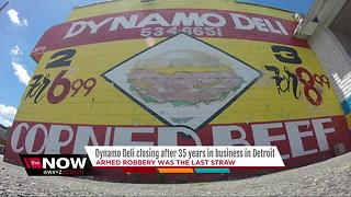 Dynamo Deli closing after 35 years in business in Detroit - Video