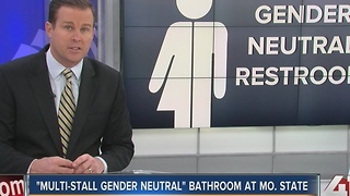 Missouri State University designates 'gender neutral' bathrooms on campus - Video