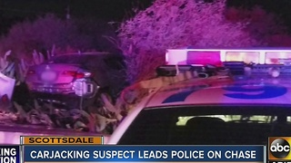 Police continue investigating carjacking and police pursuit in Scottsdale - Video