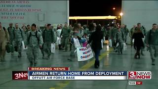 Families at Offutt welcome Airmen home for the holidays