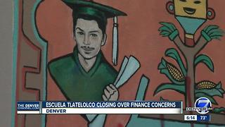 Escuela Tlatelolco closing over finance concerns - Video
