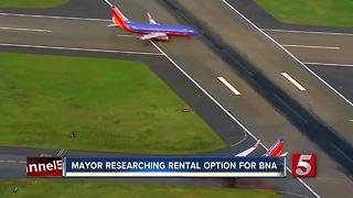 Nashville Mayor Considering Leasing BNA To Fund City Projects, Transit - Video