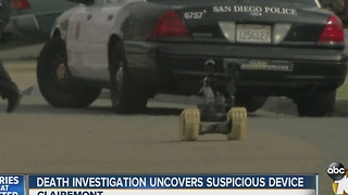 Death investigation uncovers suspicious device - Video