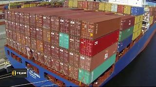 I-Team: Port Tampa Bay lags way behind in number of cargo containers shipped - Video