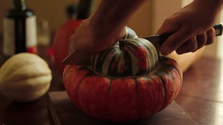 How to roast turban squash - Video