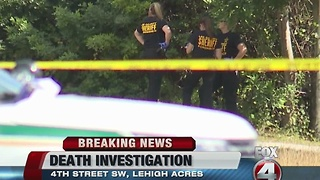 Lehigh Acres death investigation - Video