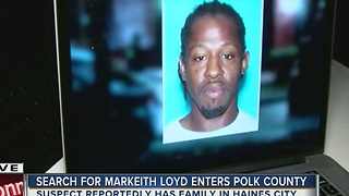 Search for Markeith Loyd enters Polk County - Video