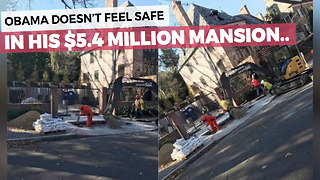 Neighbors Question New Addition Underway At Obama's $5.3 Million Mansion - Video