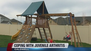 Coping with juvenile arthritis - Video