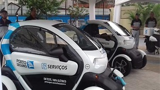Renault Twizy in Brazil - Video