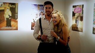 Creative Boyfriend Uses Disney-Inspired Posters to Propose - Video