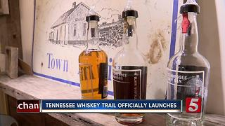 Tennessee Distillers Unveil 25-Stop Statewide Whiskey Trail - Video