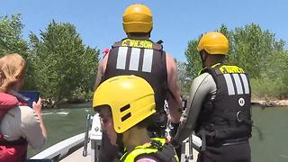 Boise River dangerous float conditions - Video