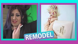 Remodel: Our gal does Joanna Lumley... Fabulously! - Video