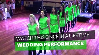 I've Been To A Lot Of Weddings, But I've Never Seen A Performance Like This Wedding Party's - Video