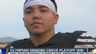 Pro Treatment: Olympian seniors crave playoff win - Video