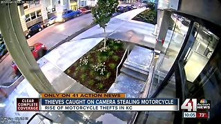 Multiple motorcycles stolen around Kansas City - Video