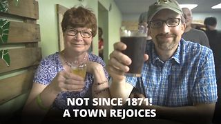 Whoops! Dry town gets a brewery... here's how - Video