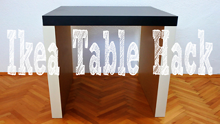Ikea table hack for a 15$  - Video