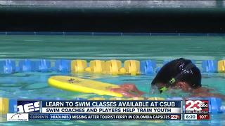 CSUB Learn to Swim Program - Video