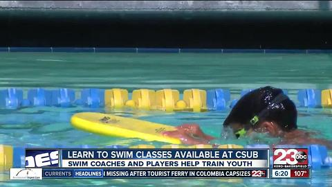 CSUB Learn to Swim Program