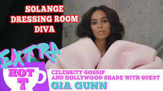 Solange Is A Dressing Room Diva: Extra Hot T - Video