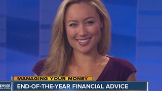 End-Of-The-Year Financial Advice - Video