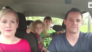 Music Starts Playing, and Dad Doesn't Miss a Beat! - Video