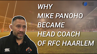 Why Mike Panoho became Headcoach of RFC Haarlem - Rugby Inside Podcast #6