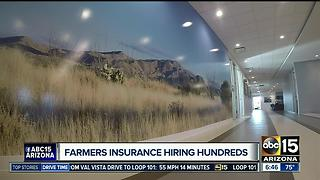 Farmers Insurance holding job fair to fill more than 400 positions in the Valley - Video