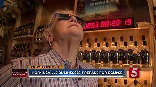 Hopkinsville Businesses Prepare For Eclipse - Video