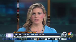 Bicyclist killed - Video