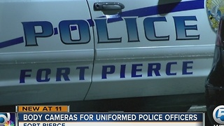 Fort Pierce police purchase 100 body cameras - Video