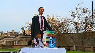 The World's Tallest Man Meets World's Smallest: 2015 - Video