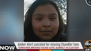 Missing Chandler teen found safe Monday - Video