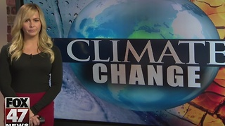 Protestors take stand against climate change denial - Video
