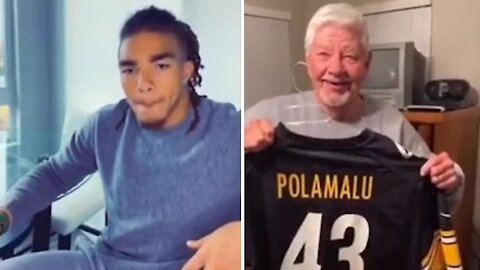 Chase Claypool of the Pittsburgh Steelers responds to emotional viral video
