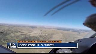 Boise District Bureau of Land Management tours Boise Front in preparation for fire season - Video